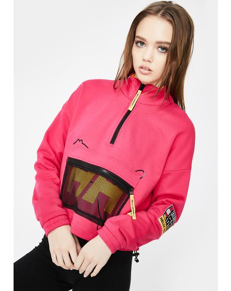 X Helly Hansen Half Zip Sweatshirt