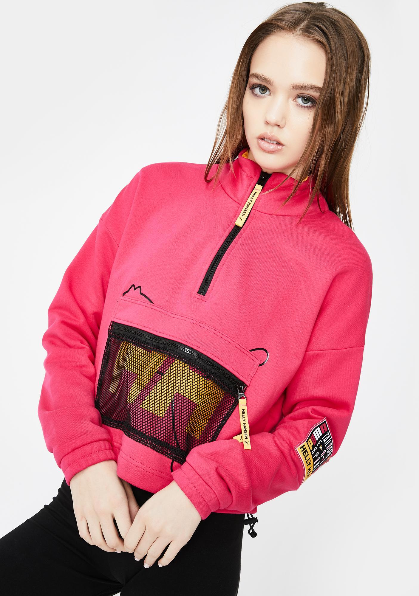 PUMA X Helly Hansen Half Zip Sweatshirt