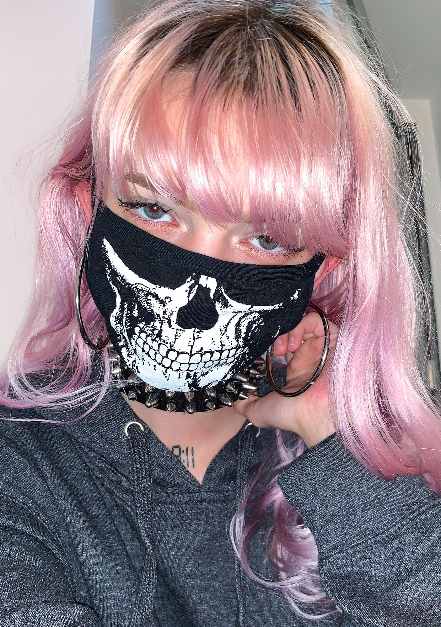 Dolls Kill Summon Me Face Mask