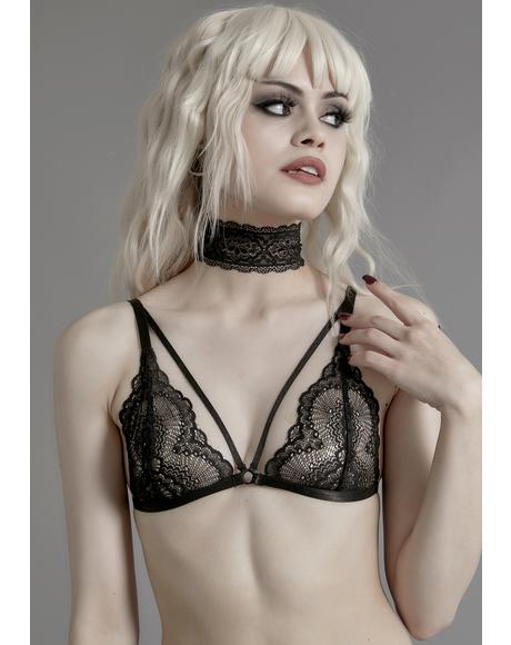 Kill Your Darlings Bralette Choker Set