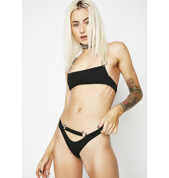 The End Lingerie The Sins Brief In Black