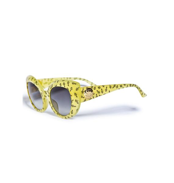Crap Eyewear The Diamond Brunch Sunglasses