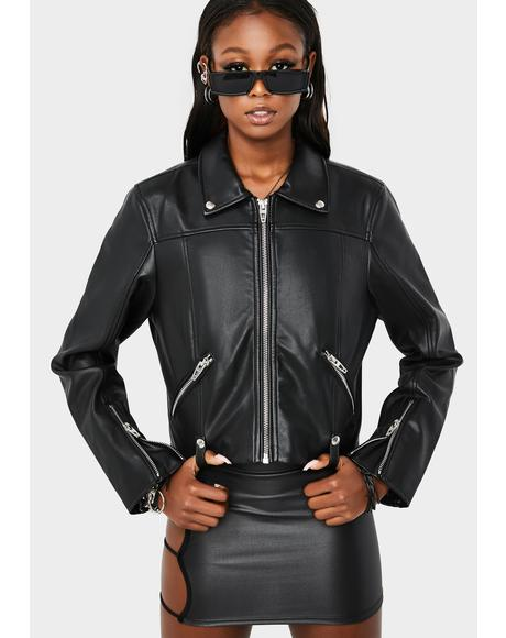 Over The Moon Moto Jacket