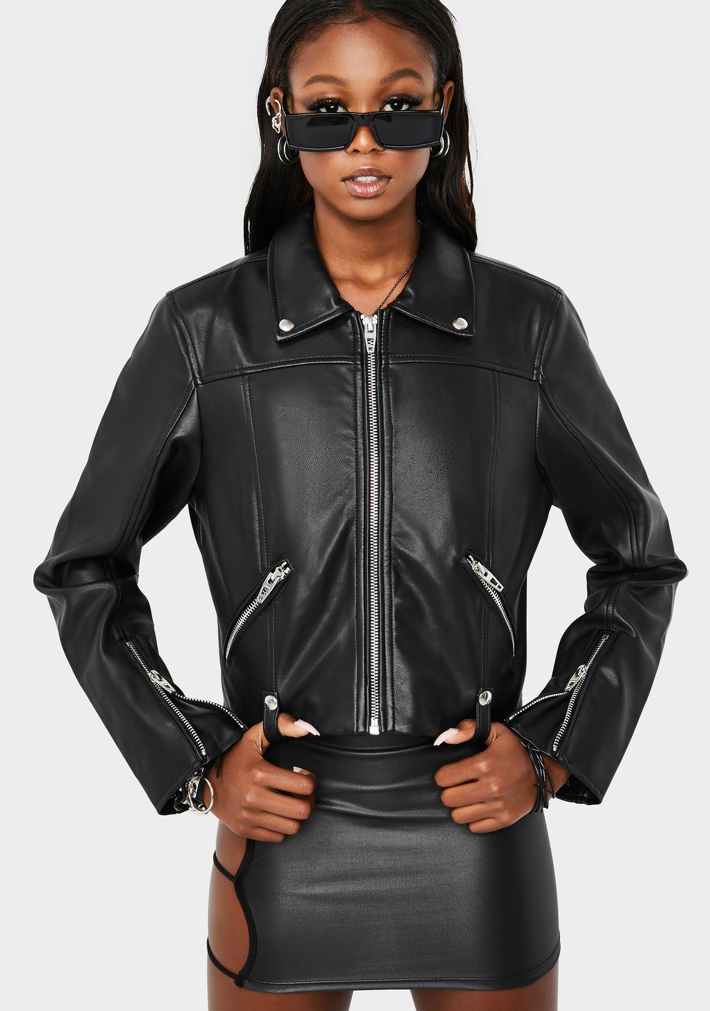 Blank NYC Over The Moon Moto Jacket