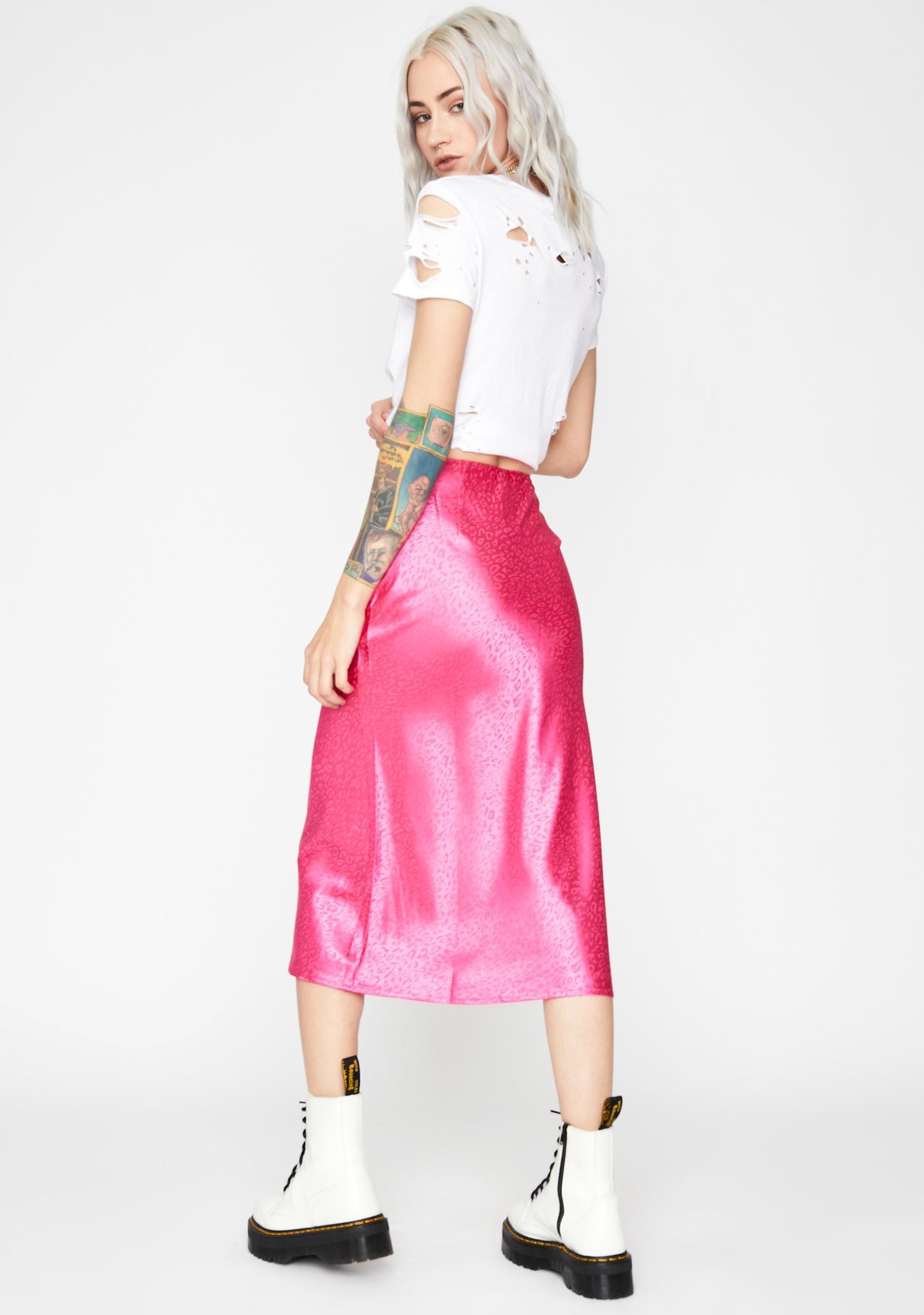 Baby Rawr Like Me Midi Skirt