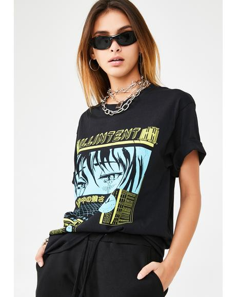 Cry Now Graphic Tee