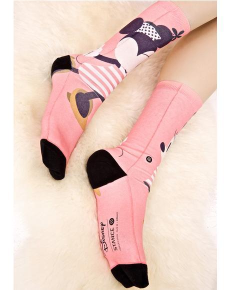 Sassy Minnie Socks
