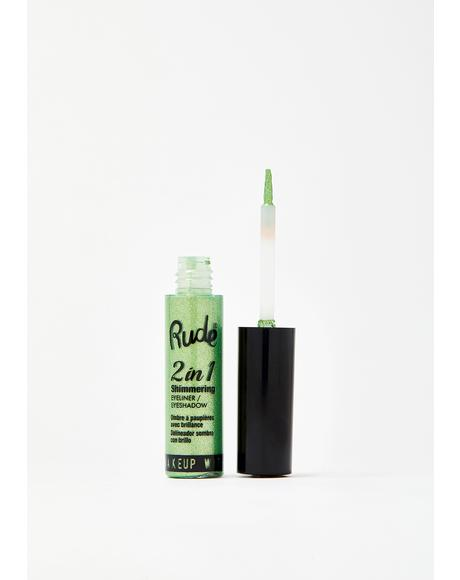 Emerald 2 in 1 Shimmering Eyeliner N' Eyeshadow