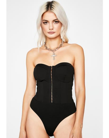 Fallen Empire Corset Bodysuit