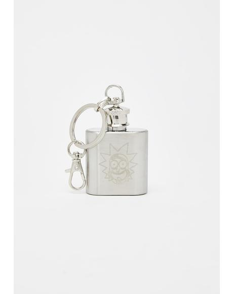 Ricksy Business Mini Flask