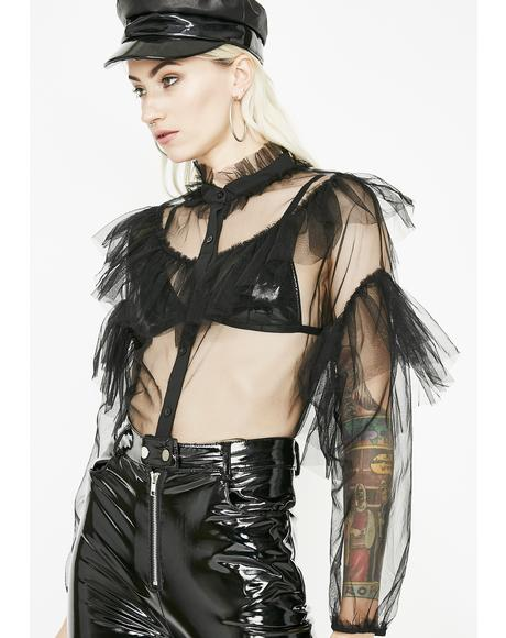 Radical Chic Organza Blouse