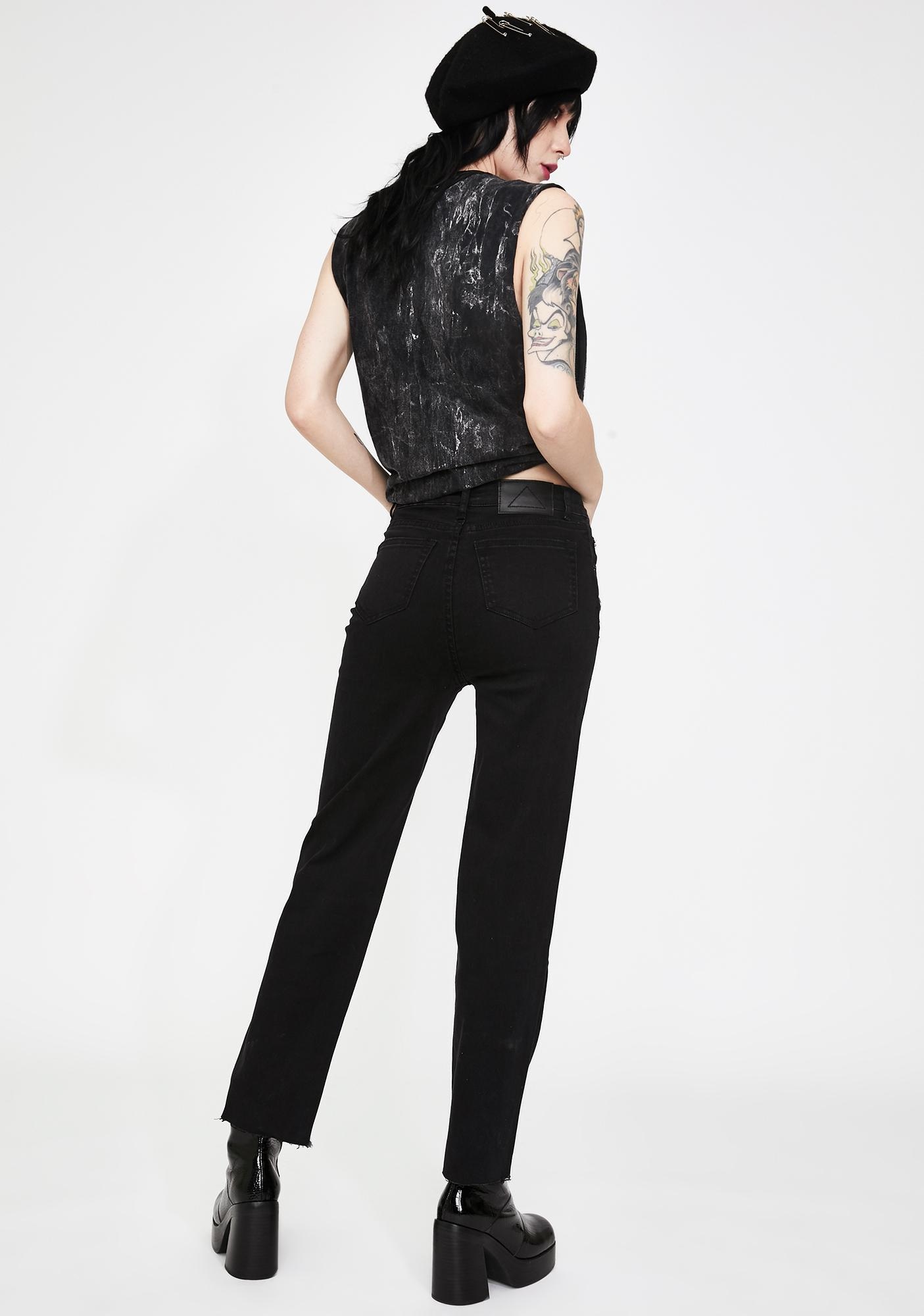 Disturbia Studded Slim Jeans