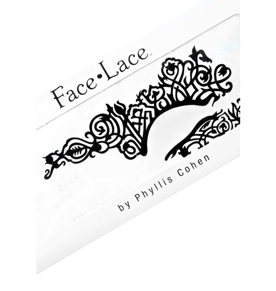 Face Lace Rusque Half Face Face Lace