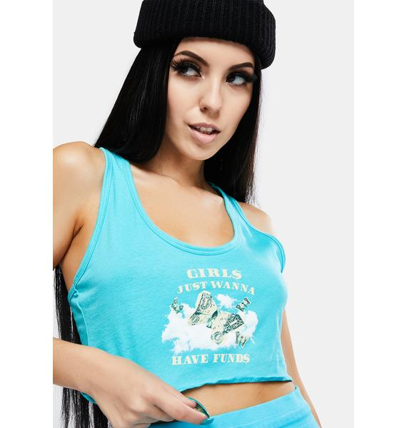 Dreamboy Girls Just Wanna Have Funds Tank Top