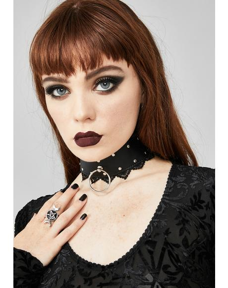 Fatal Galore O-Ring Choker