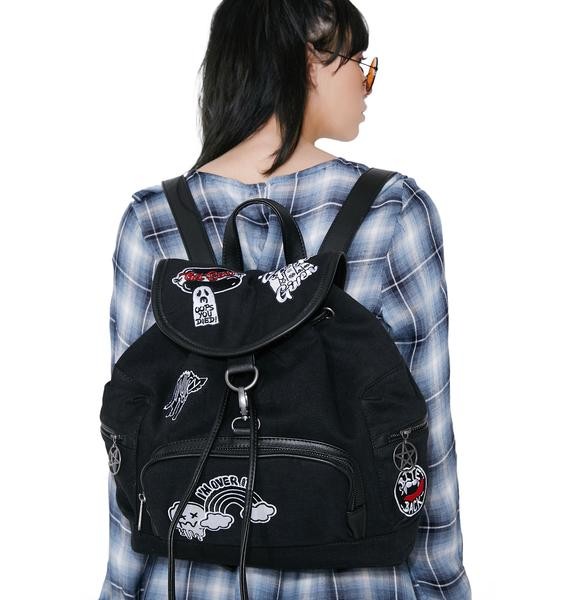 Killstar Spektra 90'S Warp Backpack