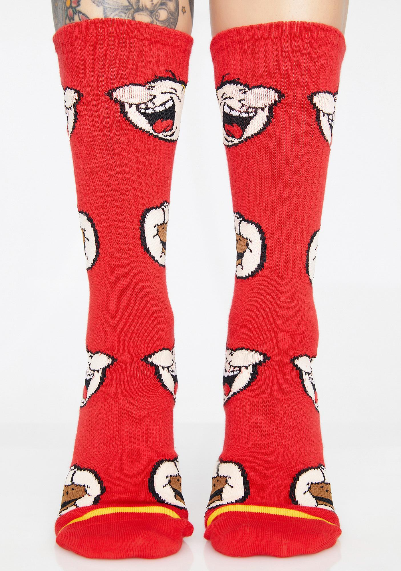 HUF Wimpy Crew Socks