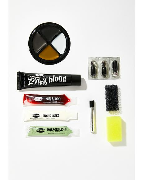Zombify Me Makeup Kit