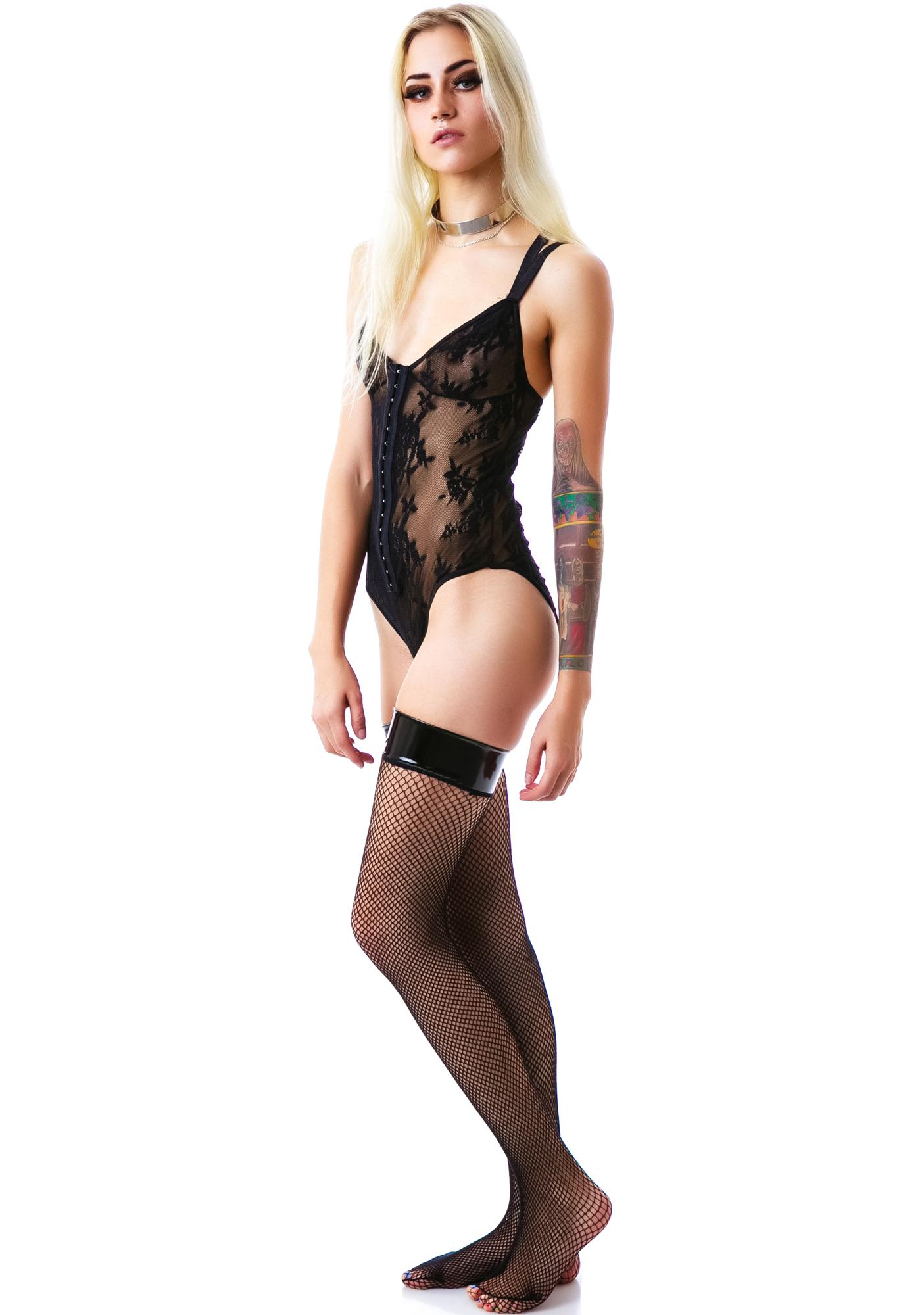Embraced in Lace Teddy