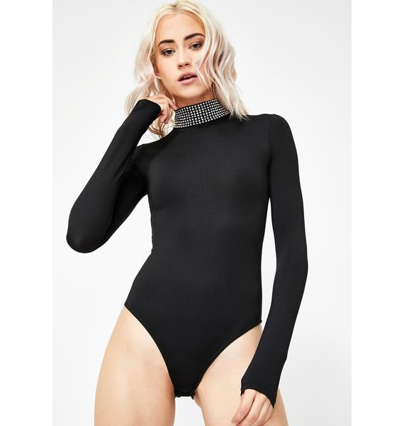 Kiki Riki I Look Good Embellished Bodysuit