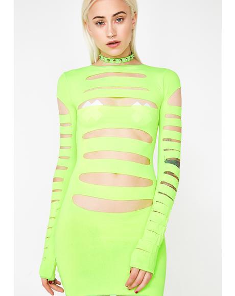 Lady Galaxia Mini Dress