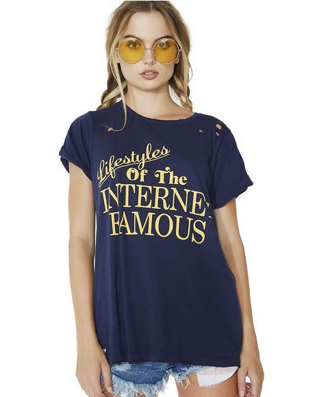 Internet Famous Crew Tee