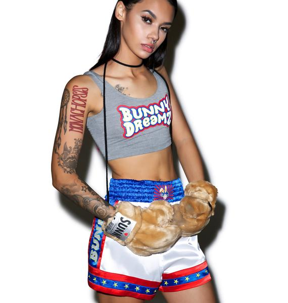 Bunny Dreamz Muay Thai Satin Shorts