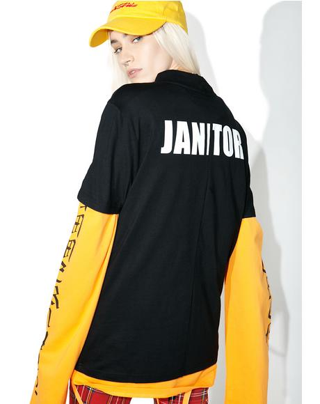 Deconstructed Janitor Tee
