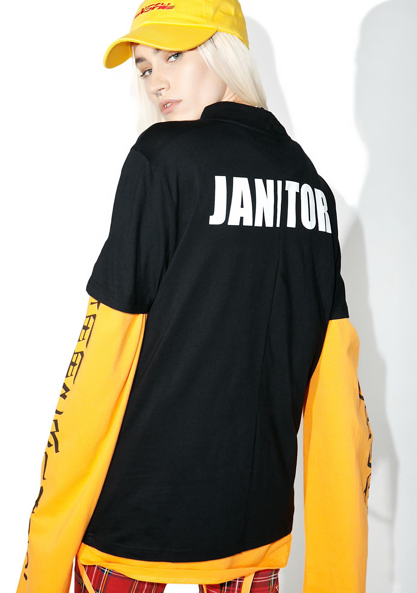 Vetememes Deconstructed Janitor Tee