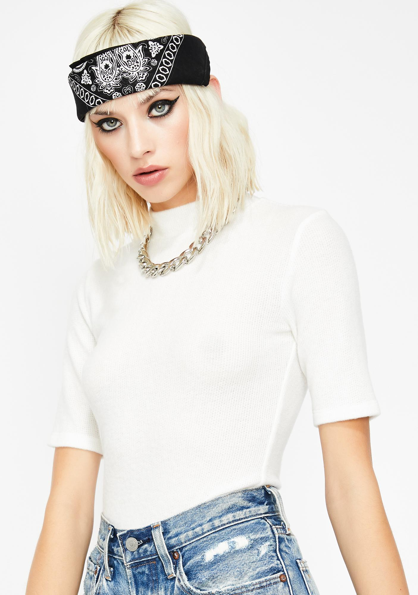 Purely On Your Mind Knit Tee