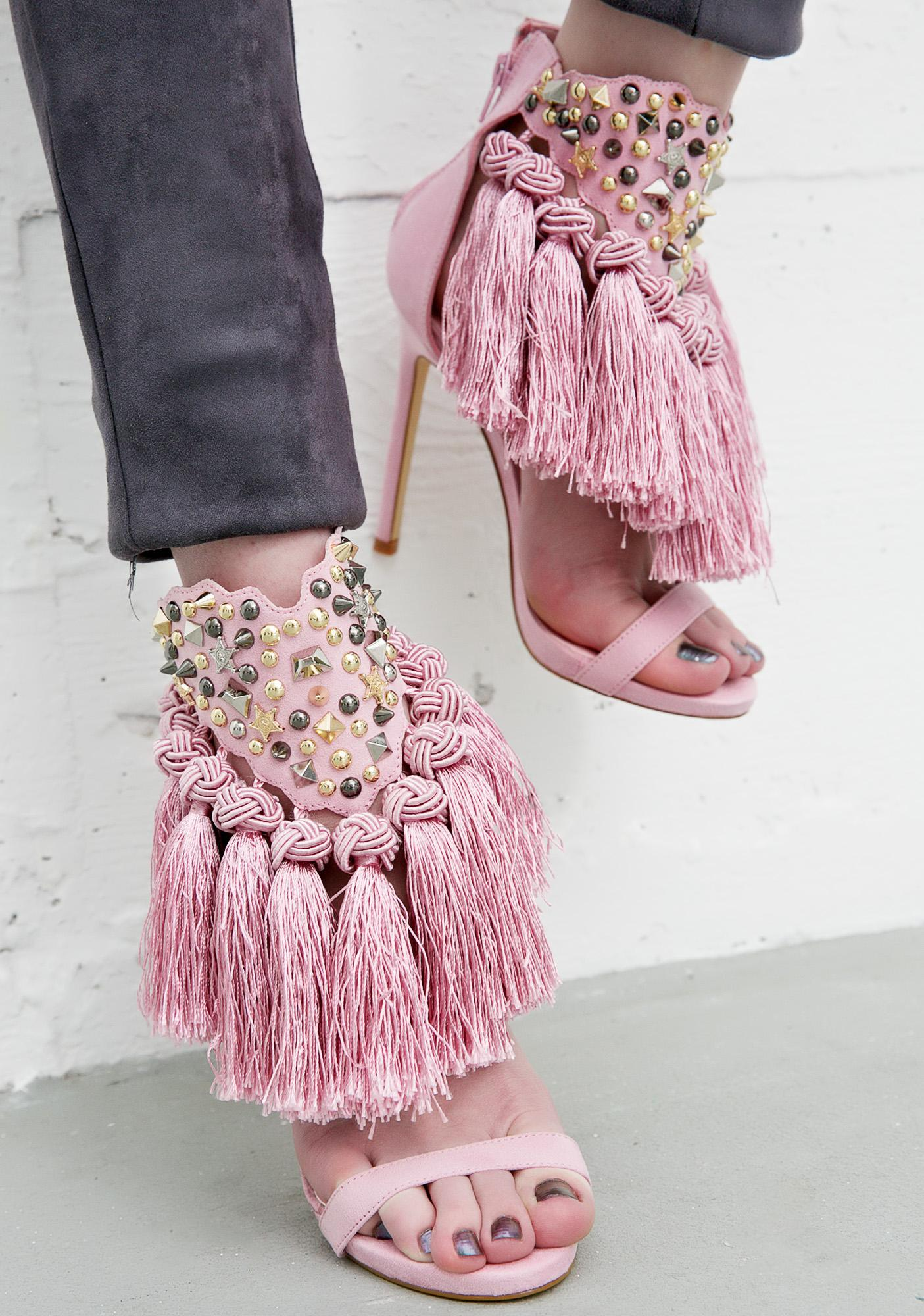 Privileged Ciao Bella Tassel Heels