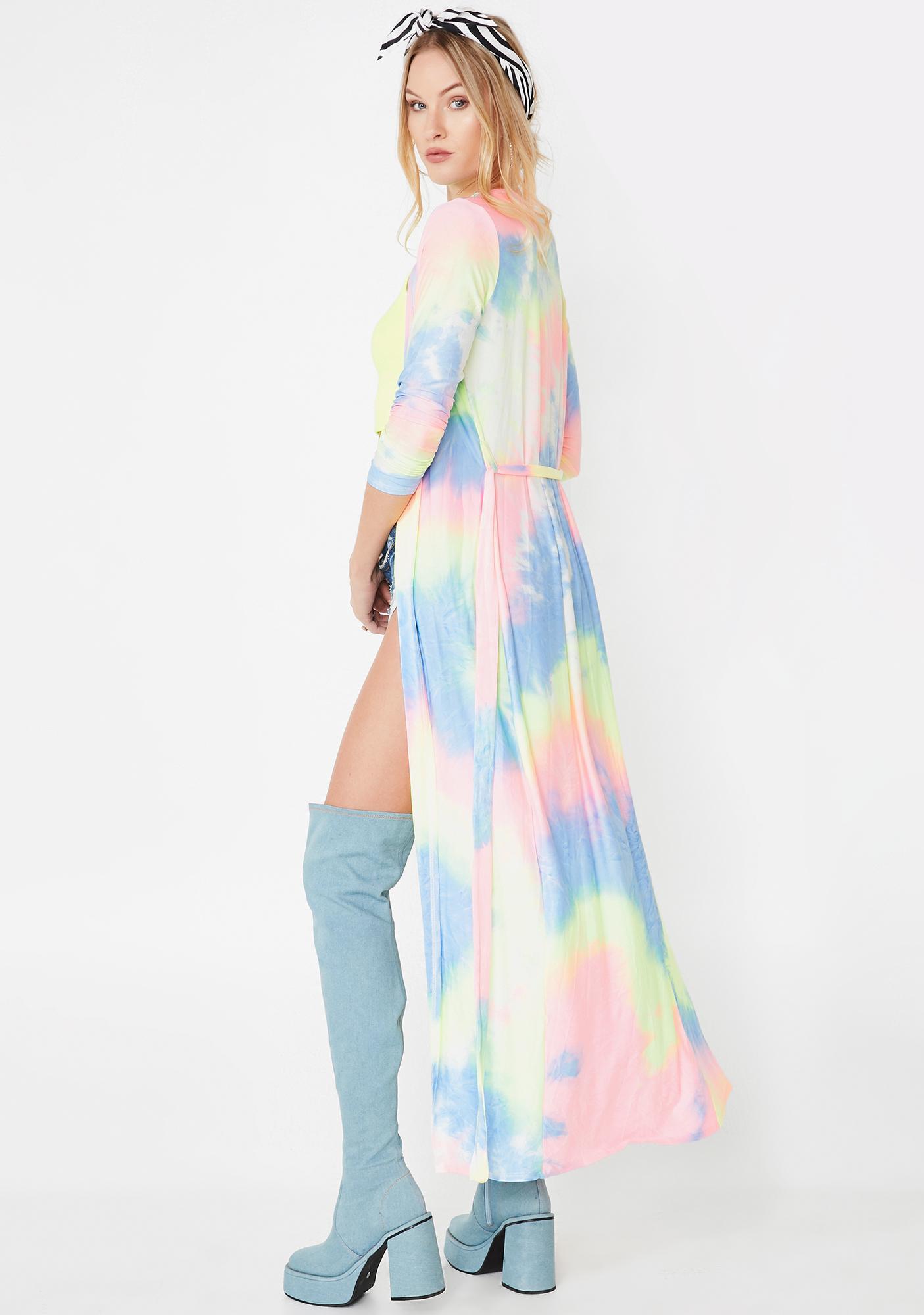 Prism Princess Tie Dye Robe