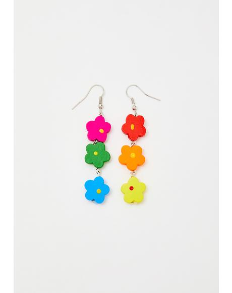 Whoopsie Daisy Drop Earrings