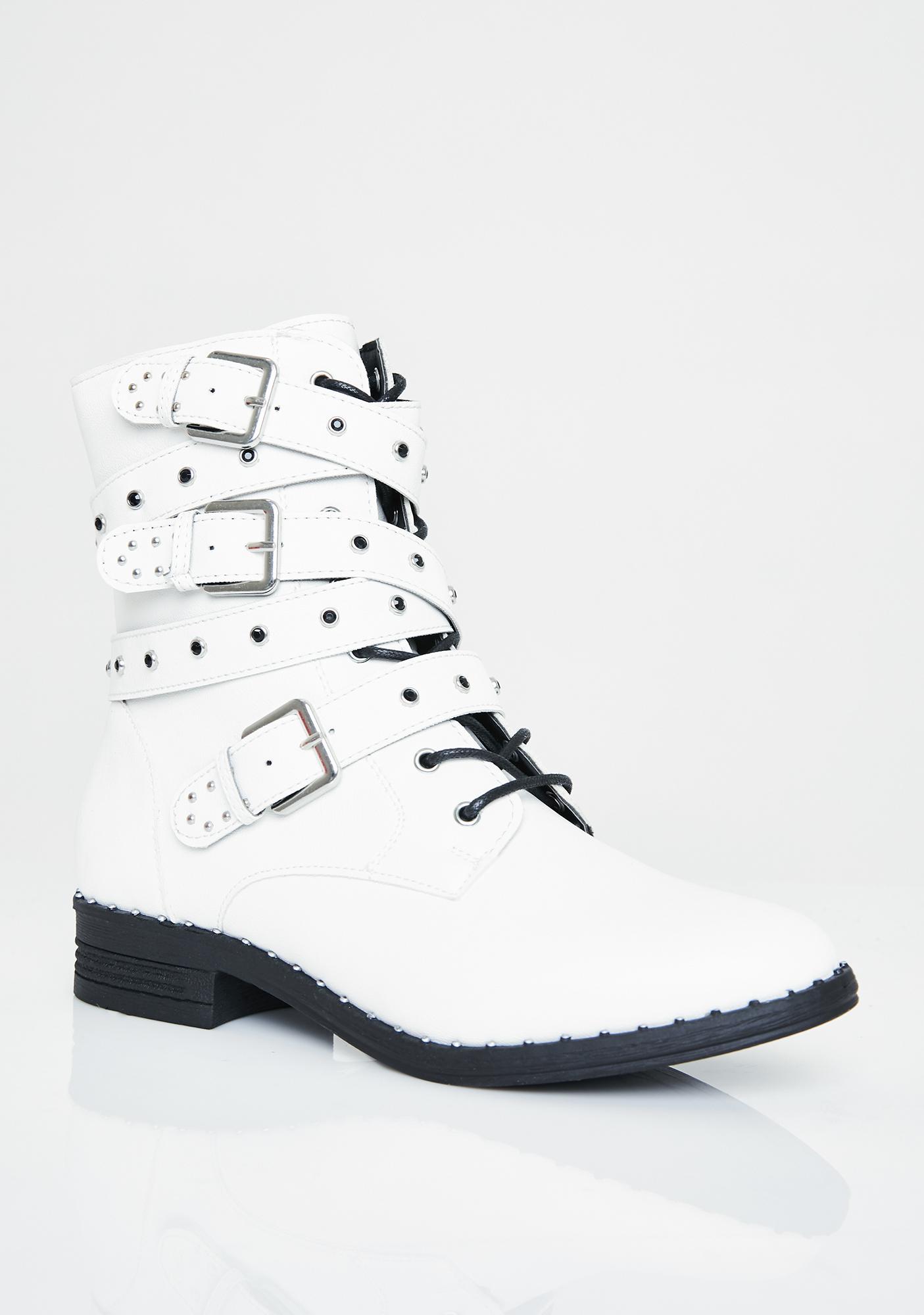 Major Stud Combat Boots