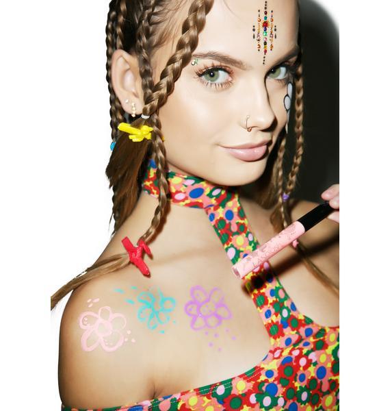 LA Splash Peace & Love Body Art Liner