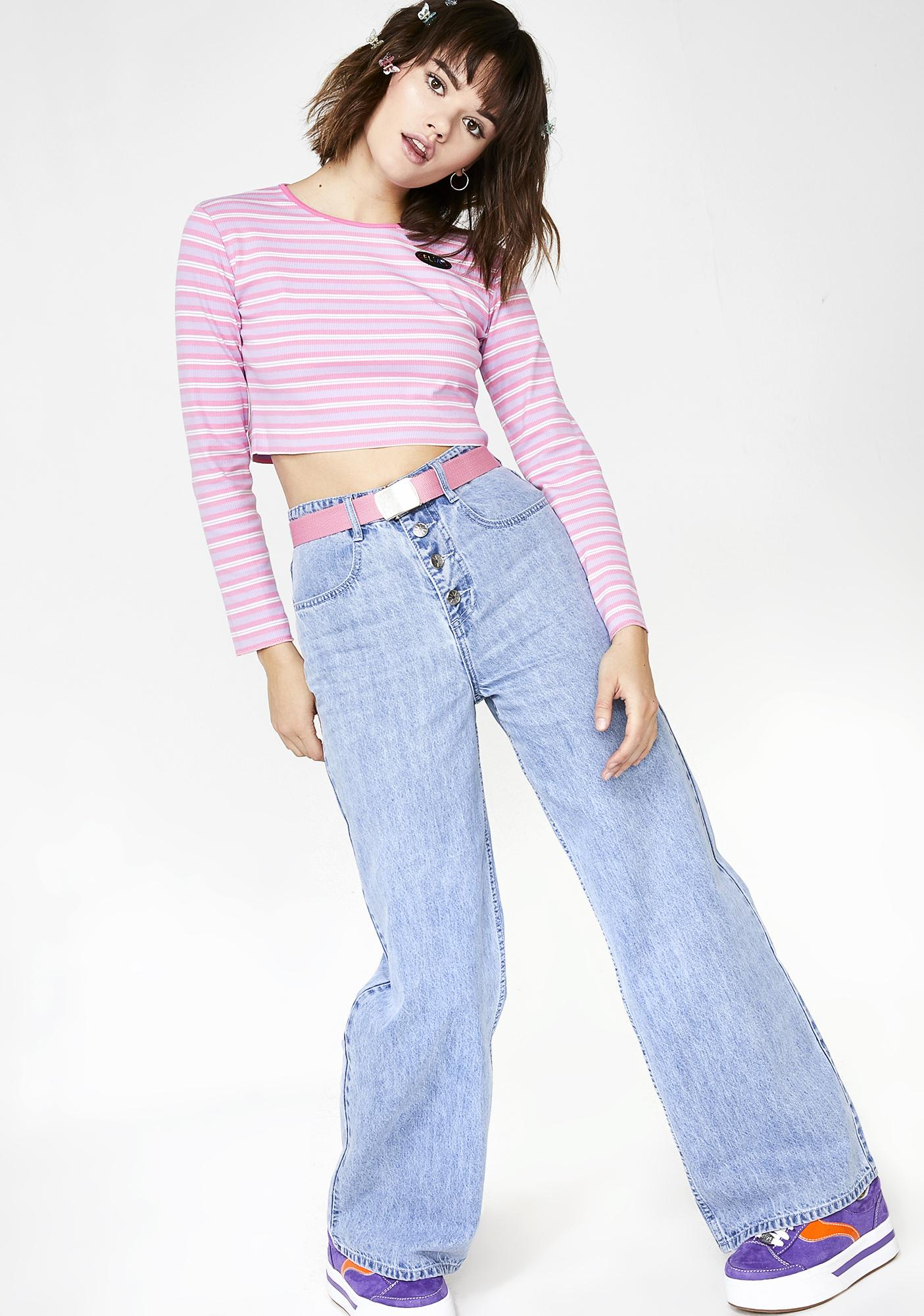 dELiA*s by Dolls Kill Like It's 1999 Wide Leg Jeans
