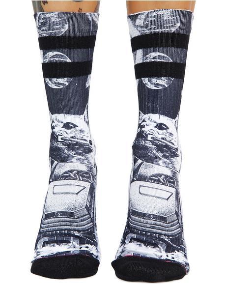 Punker Skunker Crew Socks