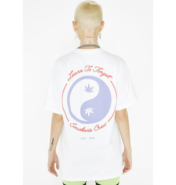 Learn To Forget Smoker's Crew Tee