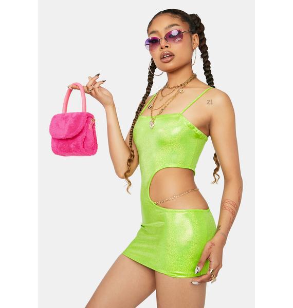 Hottie Behavior Cutout Bodycon Dress
