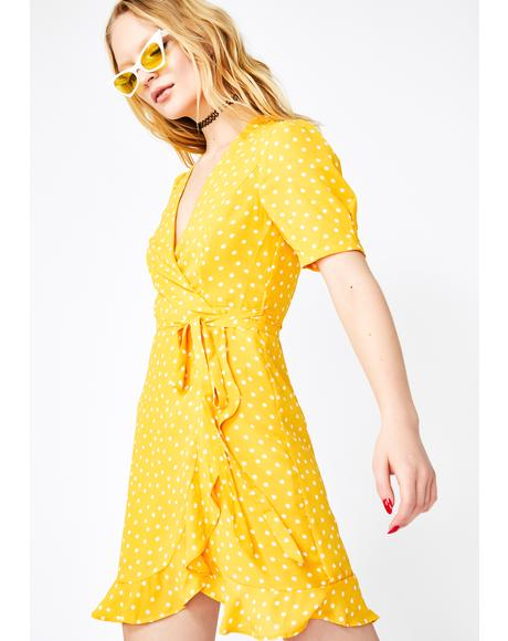 Honey Fairy Affair Wrap Dress