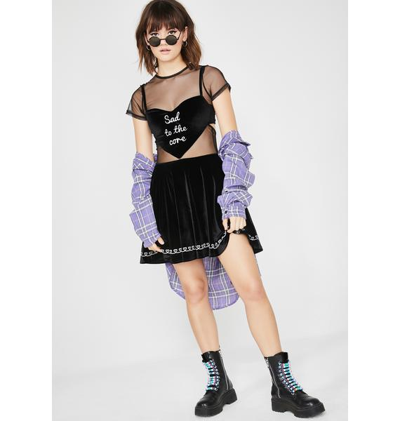Fearless Illustration Marina 2 in 1 Grunge Dress