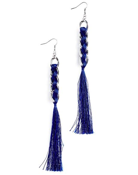 Plumage Tassel Earrings
