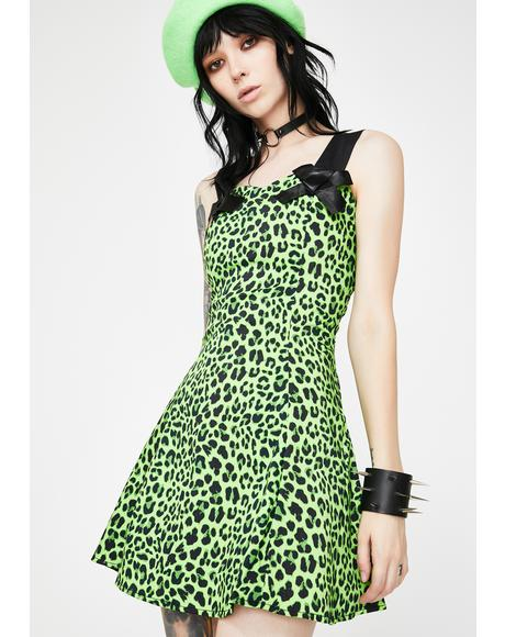 Magical Leopard Mini Dress