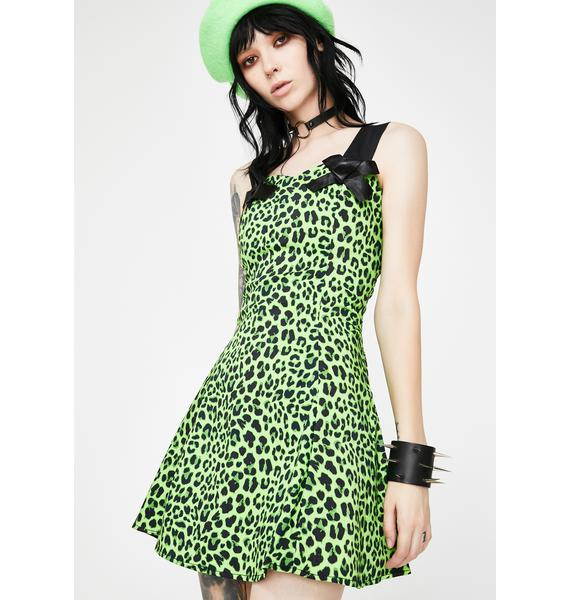 Dr. Faust Magical Leopard Mini Dress