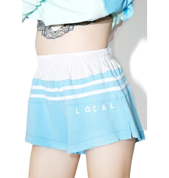 Wildfox Couture Local Blocked Golden Shorts