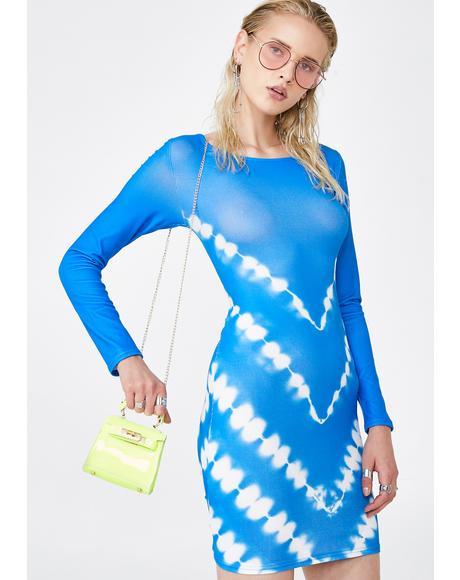 Tie Dye For Bodycon Dress