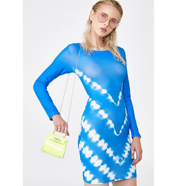 Lioness Tie Dye For Bodycon Dress