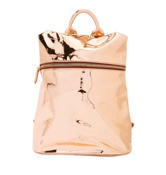 Technoglow Metallic Backpack