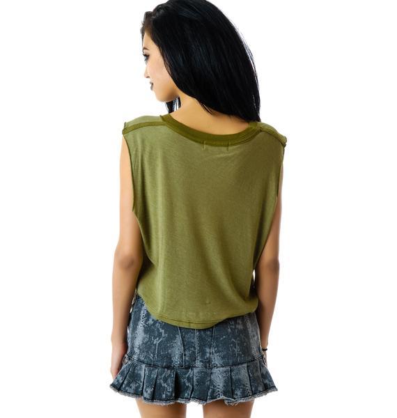 Lip Service Python Addiction Miniskirt