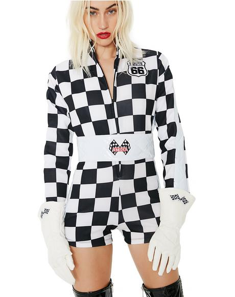 Speed Racer Romper